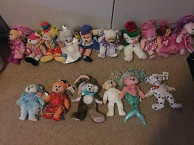Set Of 16 Beanie Kids In Perfect Condition