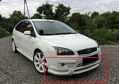 Ford Focus 2 Mk2 Full Body Kit: Front And Rear Bumper Spoilers And Side Skirts