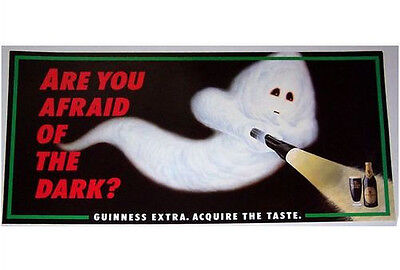 Guinness Poster - 'Ghost', c1980s