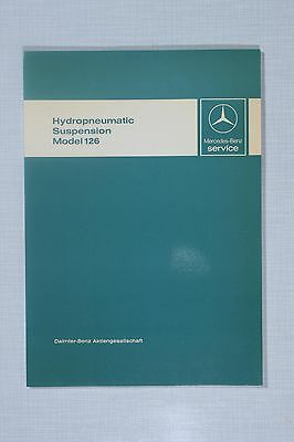 Mercedes-Benz Hydropneumatic Suspension W126 Introduction into Service Manual
