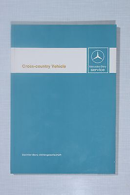 Mercedes-Benz Cross-country Vehicle (G Wagon) Introduction into Service Manual