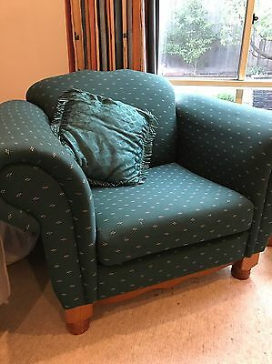 Couch/Sofa, 2 Arm chairs & Ottoman - Great condition