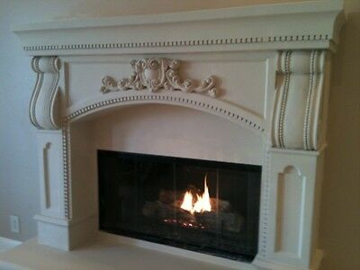 Beautifully Designed Mantel One of a Kind Piece Castle Crown French