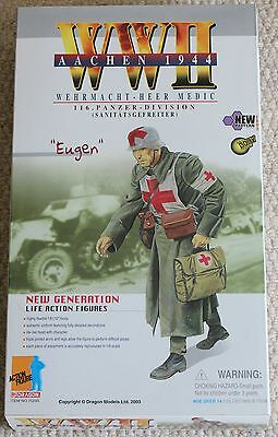 dragon action figure 1/6 ww11 german eugen 70293 12'' boxed did cyber hot toy