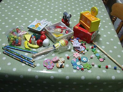 Job Lot of Wooden Toys for Stocking Fillers