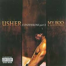 """Usher confessions part 2 / my boo vinyl 12"""""""