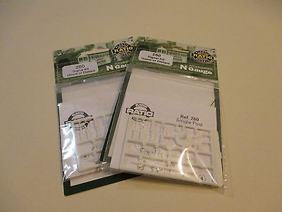 Ratio Plastic Models - N Gauge Signal kit home or distant (x2)