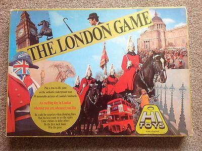 """""""The London Game"""" Vintage Board Game 1970's"""