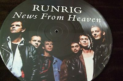 """RUNRIG 12"""" Single (Picture Disc) NEWS FROM HEAVEN + 3"""