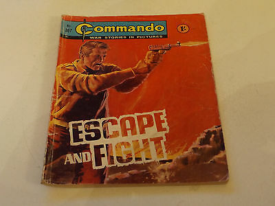 Commando War Comic Number 367,1968 Issue,good For Age,48 Years Old,very Rare.
