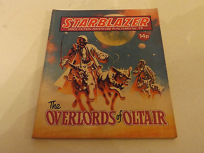 Starblazer Picture Library,no 39,1980 Issue,good For Age,very Rare Sci-Fi Comic.