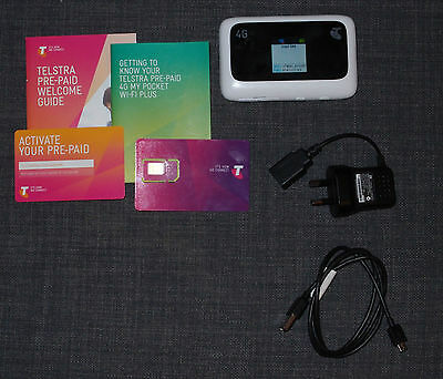 Telstra MF910 4G Pocket Wi-Fi Unlocked