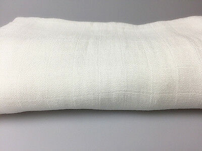 KIDZ KISS 100% Bamboo Double Layer Pre-washed Swaddling Muslin Wrap