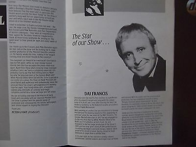 Theatre Programme.Eastbourne