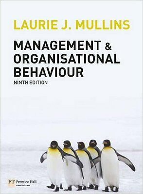 Management and organisational behaviour by Laurie J Mullins (Paperback)
