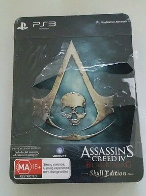 New Assassin's Creed IV: Black Flag The Skull Edition PlayStation 3 PS3