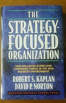 The Strategy-Focused Organization by Kaplan and Norton