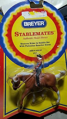 Breyer Stablemate - Western Rider and Horse - NEW - RETIRED