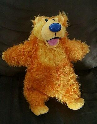 """Bear in Big Blue House 14"""" Plush Orange Nose Moves when Belly is Squeezed"""
