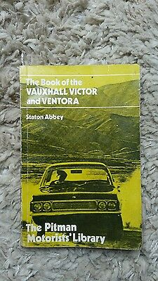Pitman vauxhall ventora victor fd owners manual pocket size