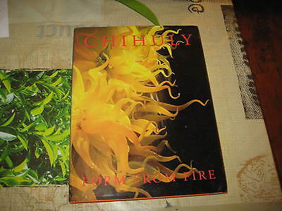 Dale Chihuly Forms From Fire Hardback Art Glass Book