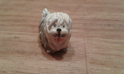 Peter Fagan, Made And Hand Painted In Scotland,old English Sheep Dog, 1986.