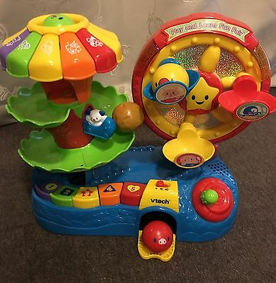 Vtech Play And Learn Fun Fair-toddler And Preschooler Educational Toy