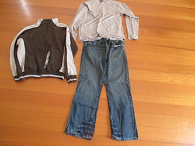3 Mens Assorted Pieces Including Jeans -  Size L and XL