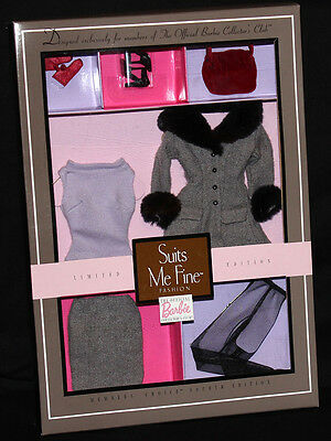 Barbie Suits Me Fine Fashion NRFB