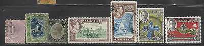 REDUCED Jamaica - various issues mint and used - LOOK including Scouting stamps