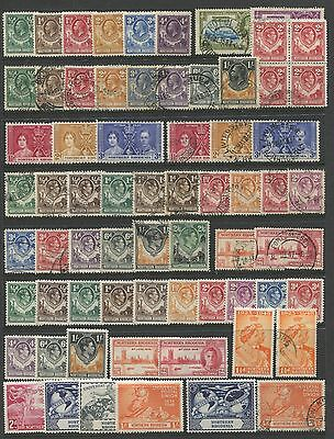 """NORTHERN RHODESIA - 1925 - 1963 """" GOOD SELECTION of 100+ STAMPS """" ."""