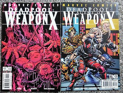 Deadpool : Agent of Weapon X # 1 & 2 / 57 & 58 (Marvel, 1997, 1st series) VF