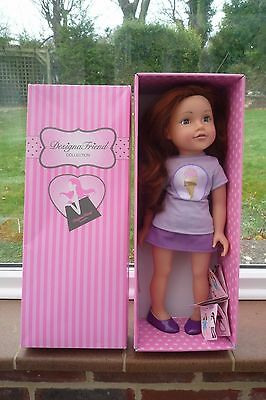 Design A Friend Doll Florence in Box Lovely!