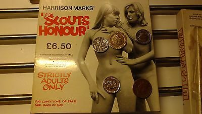 Harrison marks- Scouts honour-  Glamour vintage - 8mm b/w film great box photo