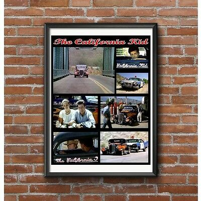 California Kid Poster - 1934 Ford Hot Rod Pete Chapouris Pete & Jake