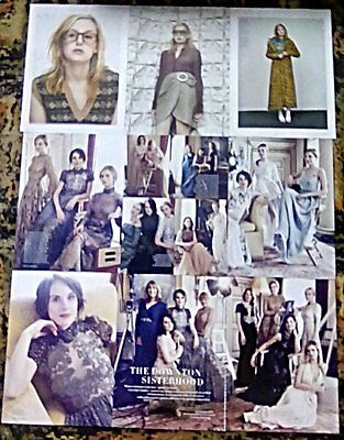 Downton Abbey Cast Clippings 42 Full Pages Michelle Dockery Laura Carmichael +