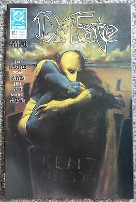 Dr. Fate Annual #1 (DC Comics, 1989, New Format) VF