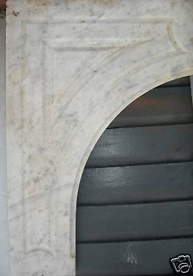 Antique CARRERRA MARBLE  Mantel