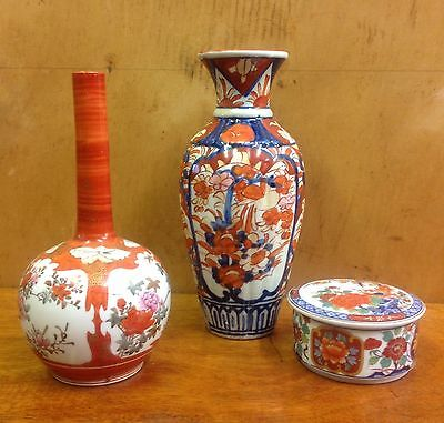 Collection of Vintage Oriental Vases and Pots