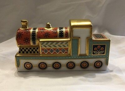 Royal Crown Derby Treasures of Childhood Mini Steam Train