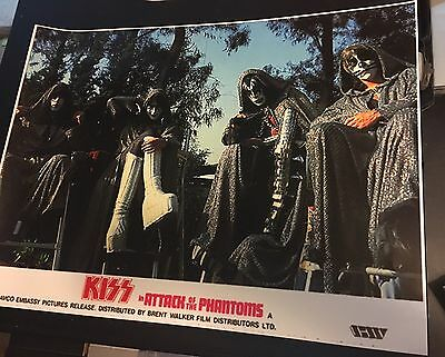 Kiss Attack Of The Phantoms Poster 18x24 Inches