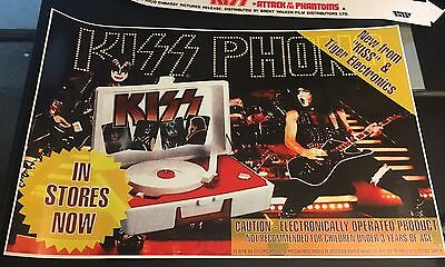 Kiss Tiger Record Player Promo Poster !!  26x17 Inch Reproduction.