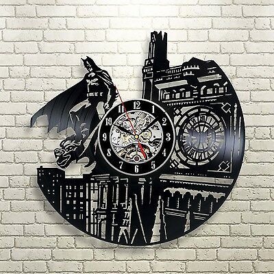 Batman Dark Knight_Exclusive wall clock made of vinyl record_GIFT 10