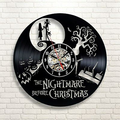 Jack Skellington and Sally Nightmare Before Christmas Love Home Wall Clock 134
