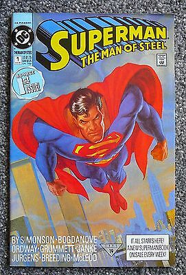 Superman: The Man of Steel #1 (DC Comics, 1991) VF
