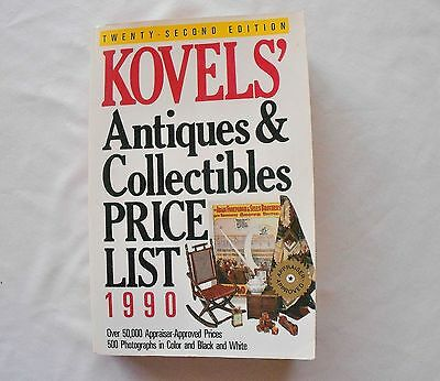 Kovels' Antique & Collectibles Price List 1990 22nd Edition Price Guide
