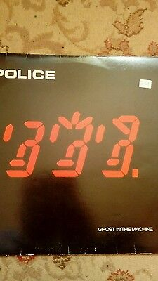 THE POLICE Ghost In The Machine LP Vinyl