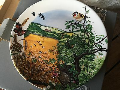 Bradford Exchange collectors plate. The Village In The Valley