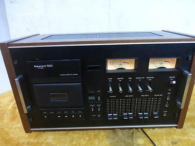 Nakamichi  Tritracer 1000  cassette Tape Deck , serviced