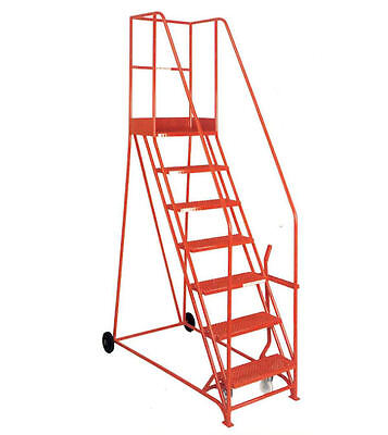 Mobile Ladder with Lever (5 steps)